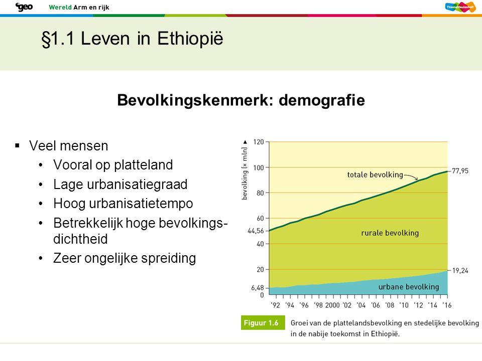 Bevolkingskenmerk: demografie