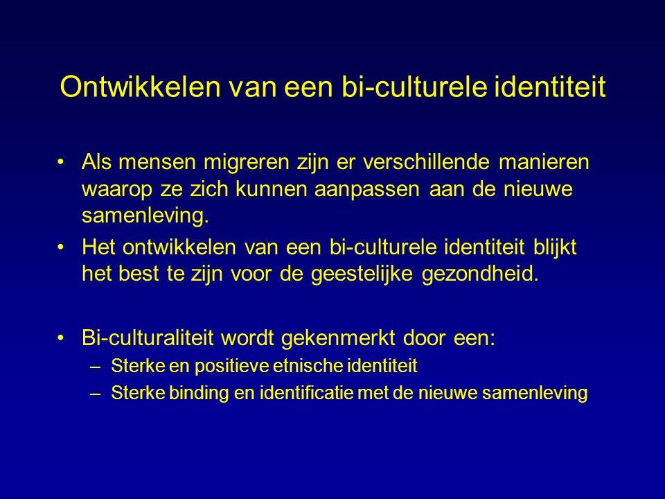 Ontwikkelen van een bi-culturele identiteit