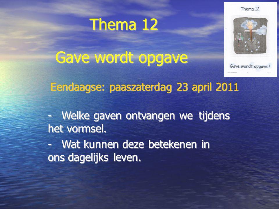 Eendaagse: paaszaterdag 23 april 2011