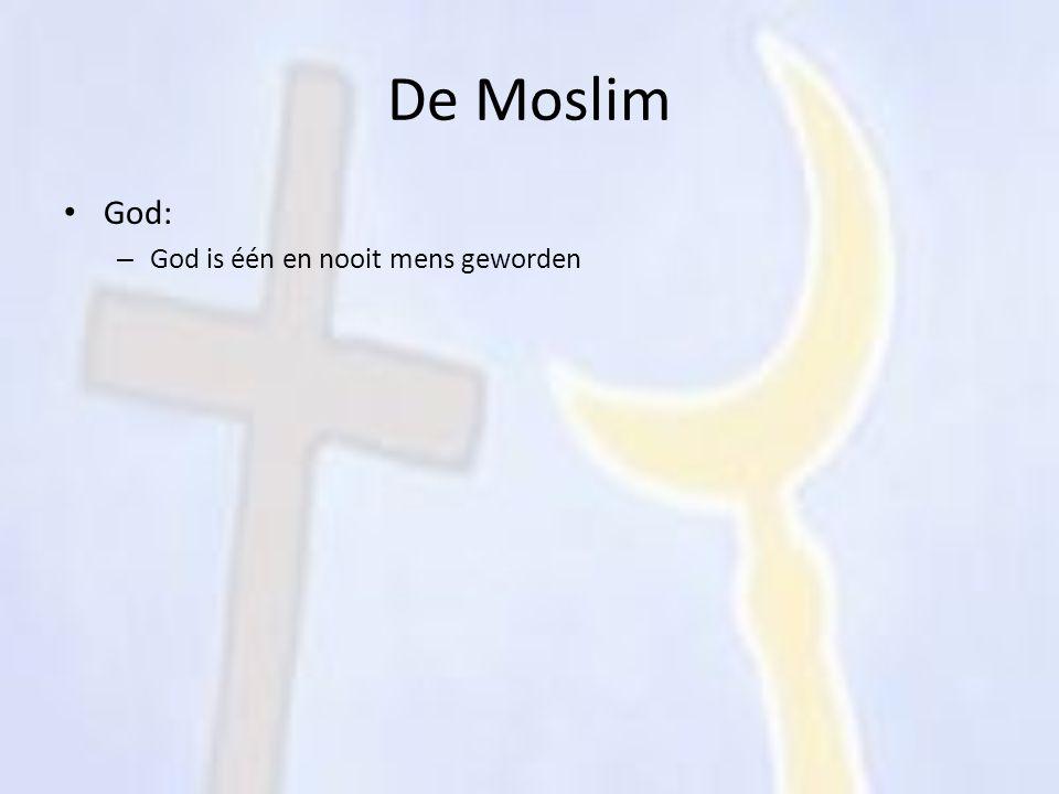De Moslim God: God is één en nooit mens geworden