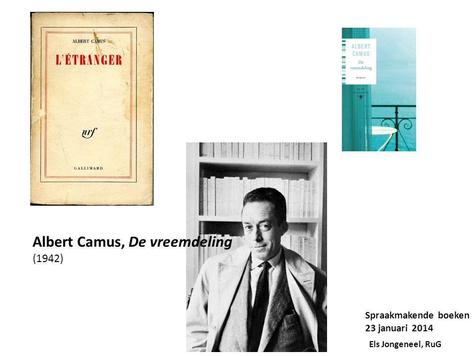 Albert Camus, De vreemdeling