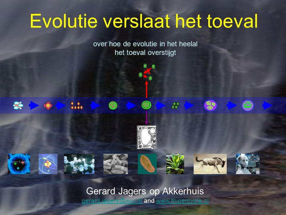 Evolutie verslaat het toeval