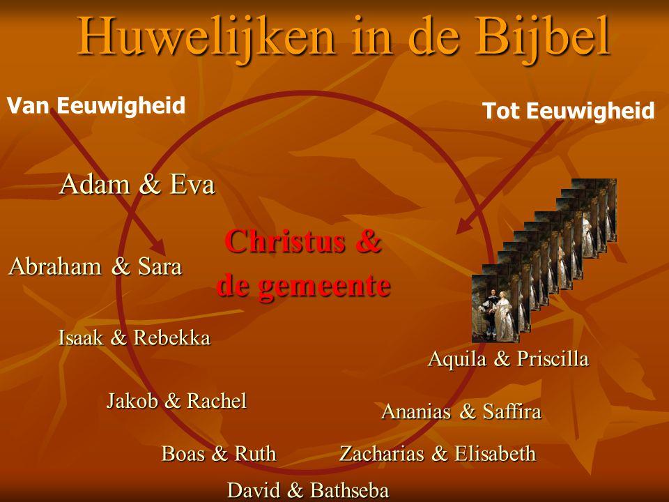 Huwelijken in de Bijbel