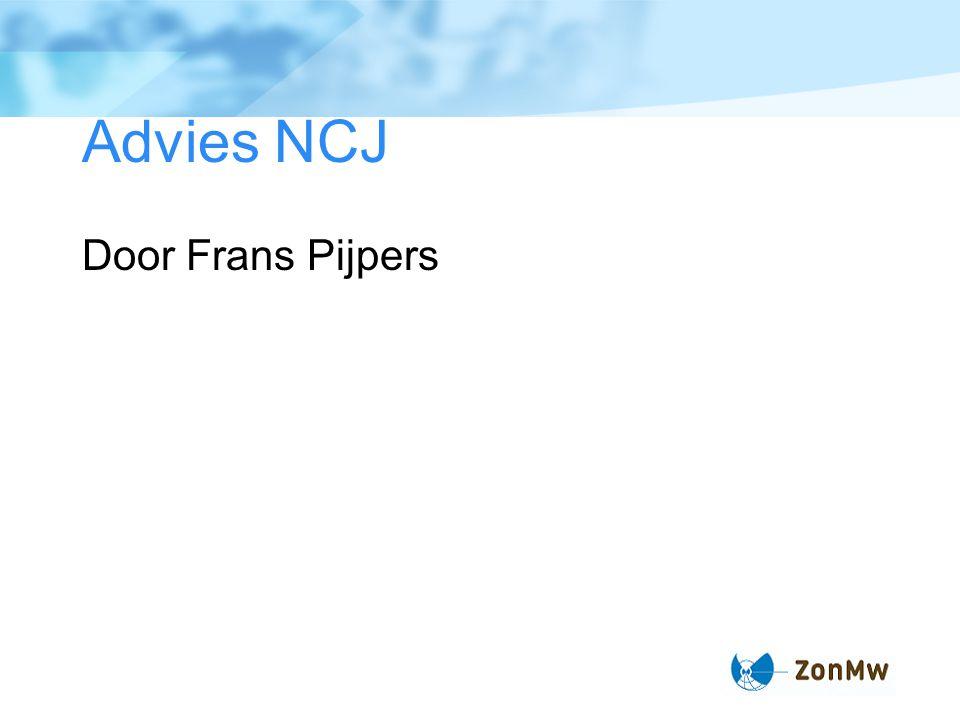 Advies NCJ Door Frans Pijpers