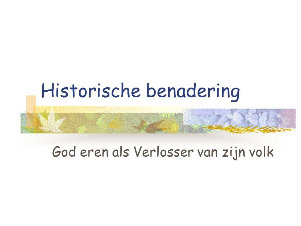 Historische benadering