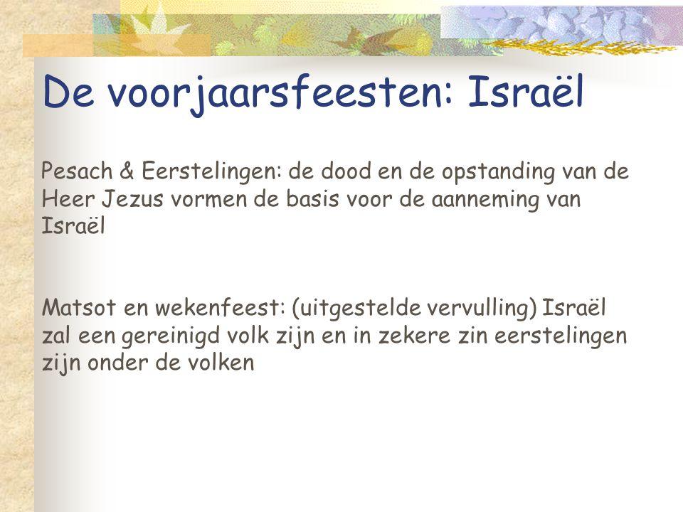 De voorjaarsfeesten: Israël
