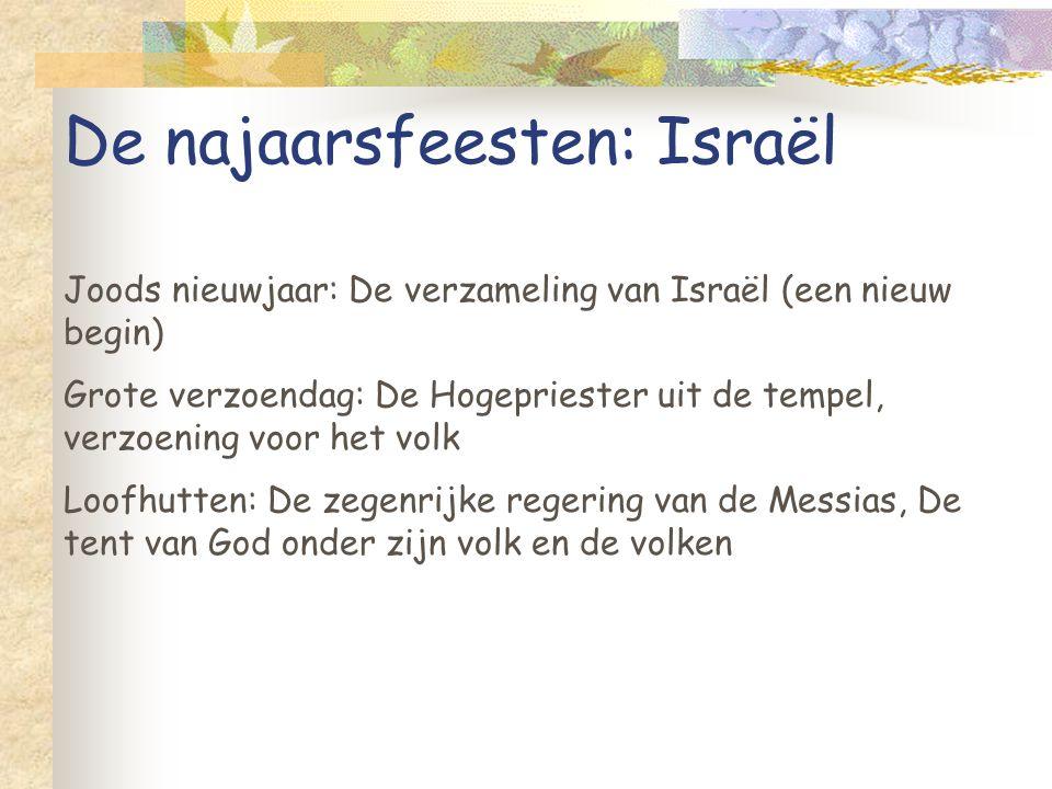 De najaarsfeesten: Israël