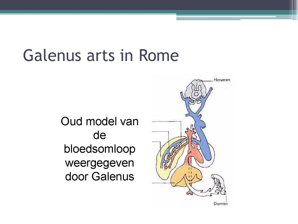 Galenus arts in Rome