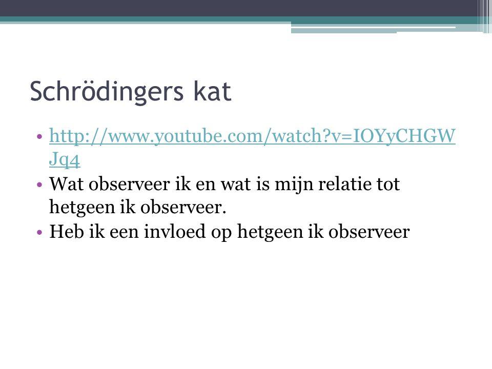 Schrödingers kat http://www.youtube.com/watch v=IOYyCHGW Jq4
