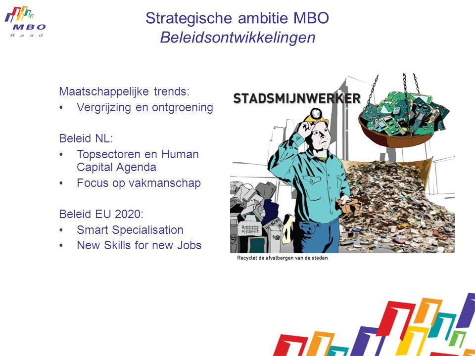Strategische ambitie MBO Beleidsontwikkelingen