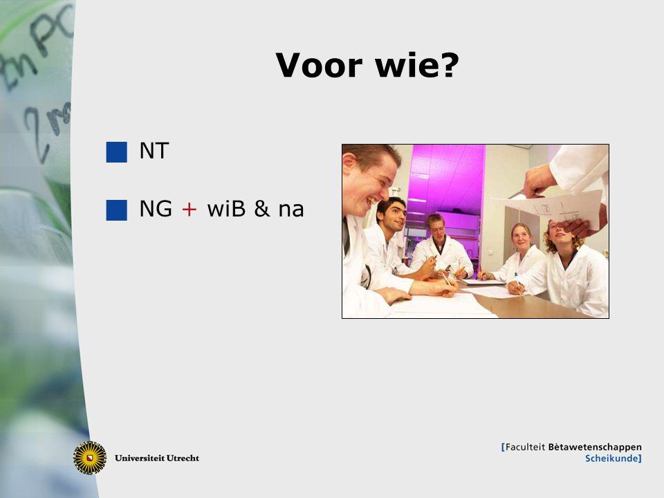 Voor wie NT NG + wiB & na
