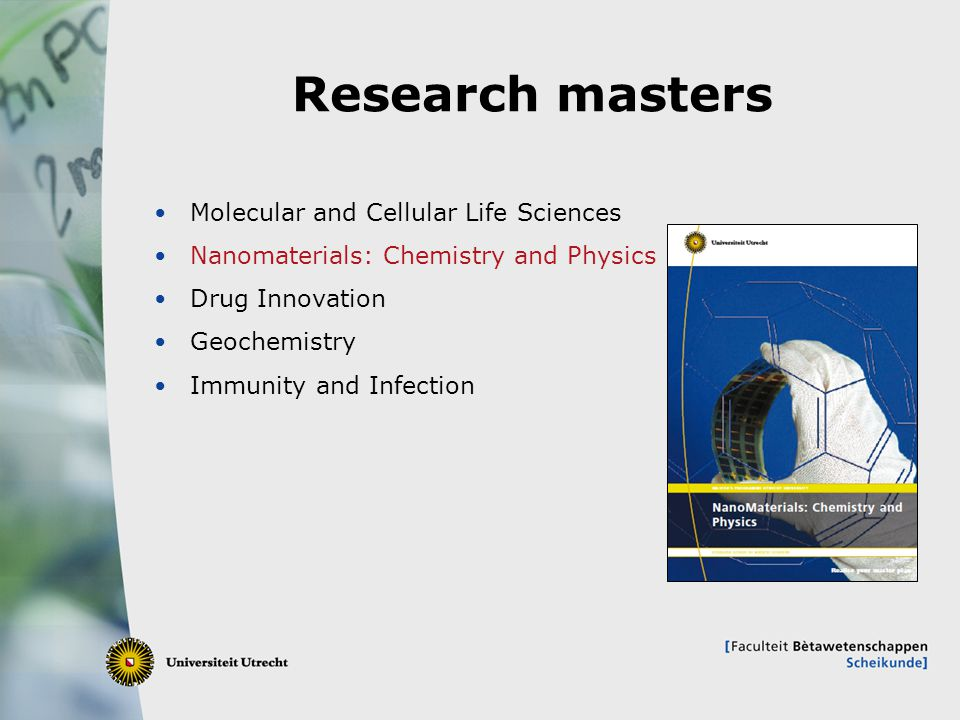 Research masters Molecular and Cellular Life Sciences