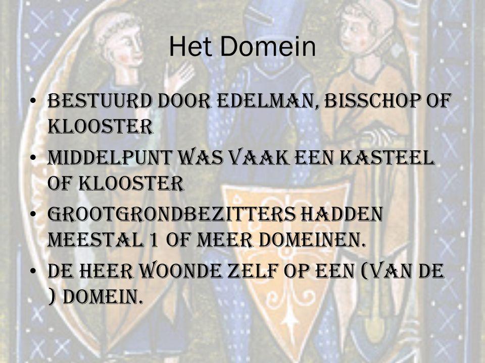 Het Domein Bestuurd door edelman, bisschop of klooster