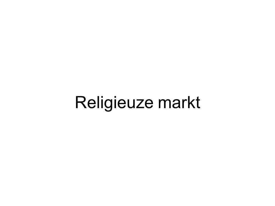 Religieuze markt