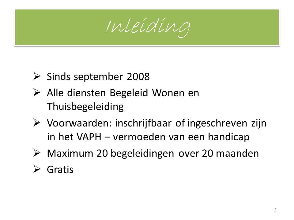 Inleiding Sinds september 2008