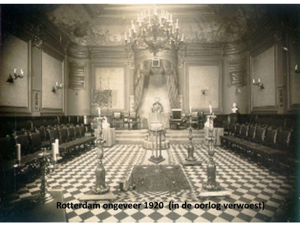 Rotterdam ongeveer 1920 (in de oorlog verwoest)