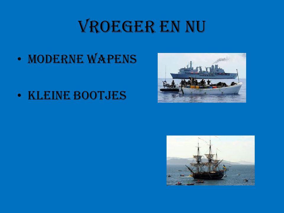Vroeger en nu Moderne wapens Kleine bootjes
