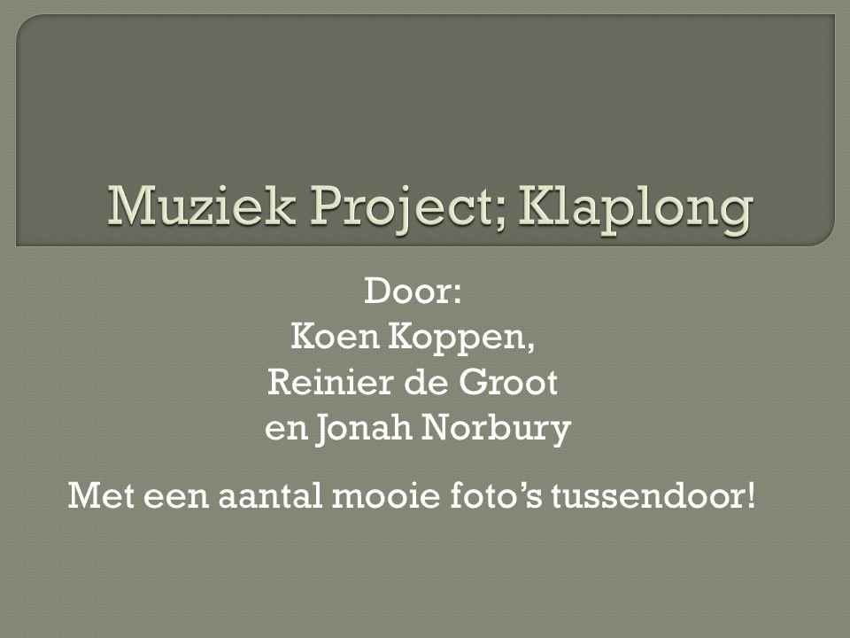 Muziek Project; Klaplong