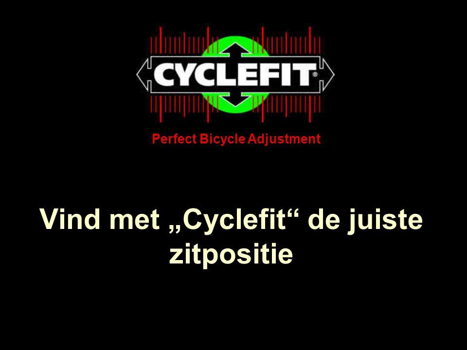 """Vind met """"Cyclefit de juiste zitpositie"""