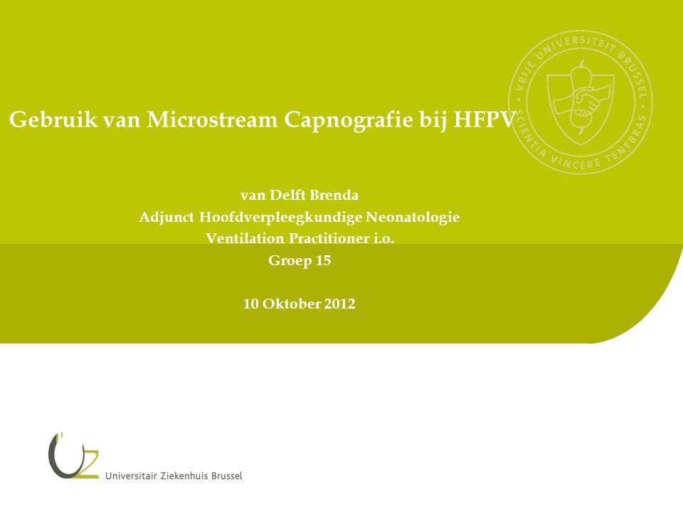 Gebruik van Microstream Capnografie bij HFPV