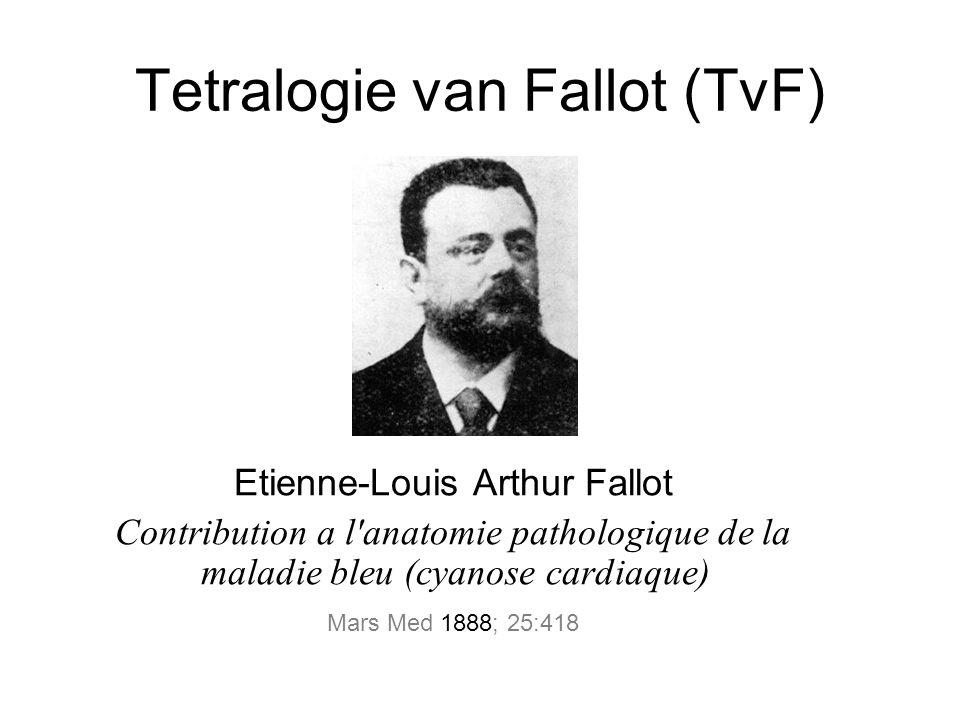 Tetralogie van Fallot (TvF)
