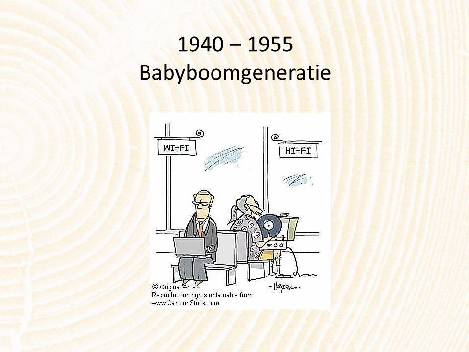 1940 – 1955 Babyboomgeneratie