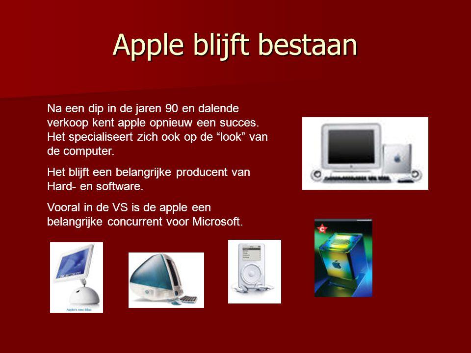 Apple blijft bestaan