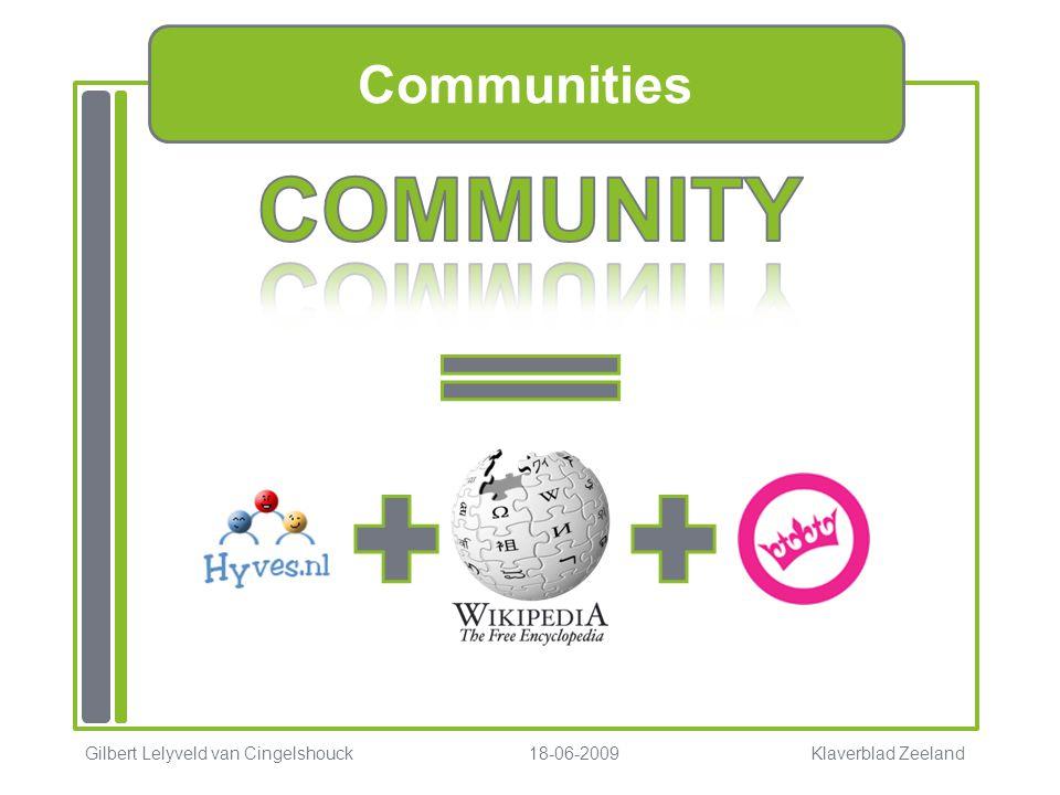 COMMUNITY Communities