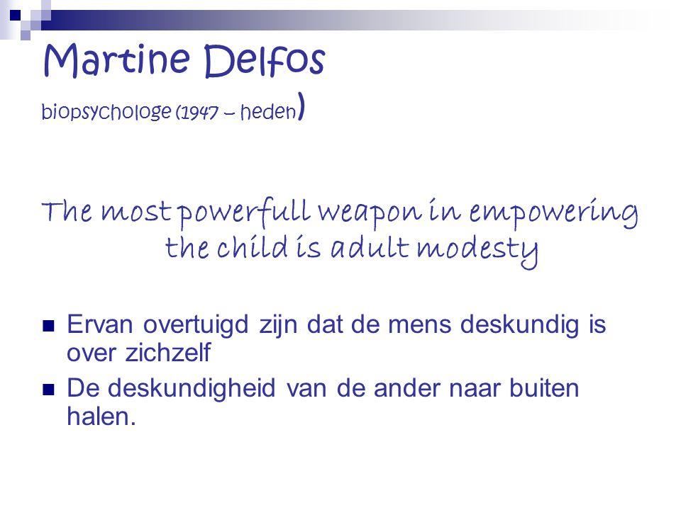 Martine Delfos biopsychologe (1947 – heden)