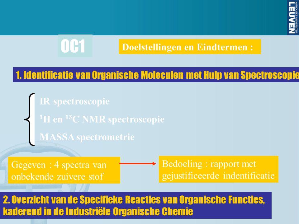 OC1 Doelstellingen en Eindtermen :