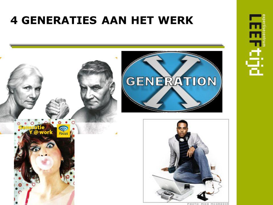 4 GENERATIES AAN HET WERK