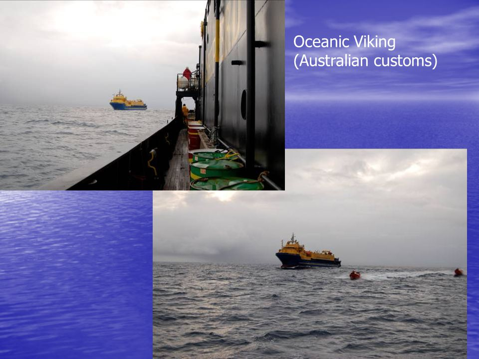 Oceanic Viking (Australian customs)
