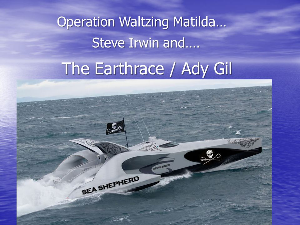 Operation Waltzing Matilda…