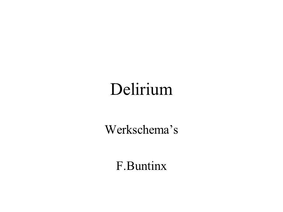 Werkschema's F.Buntinx