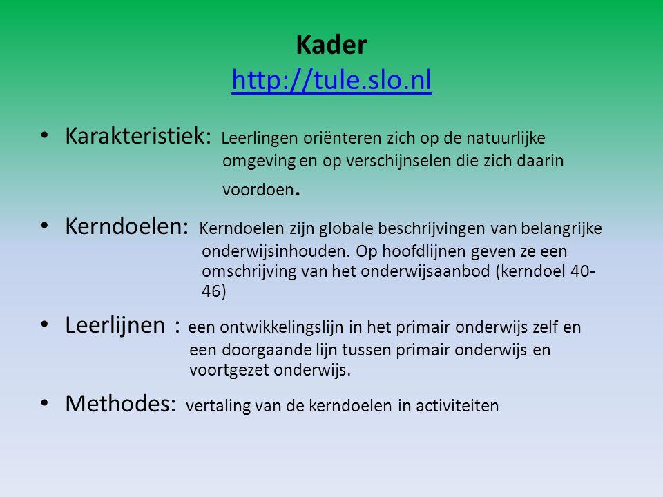 Kader http://tule.slo.nl
