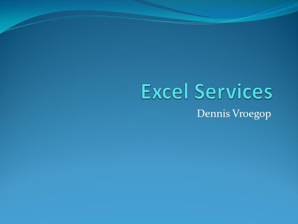 Excel Services Dennis Vroegop