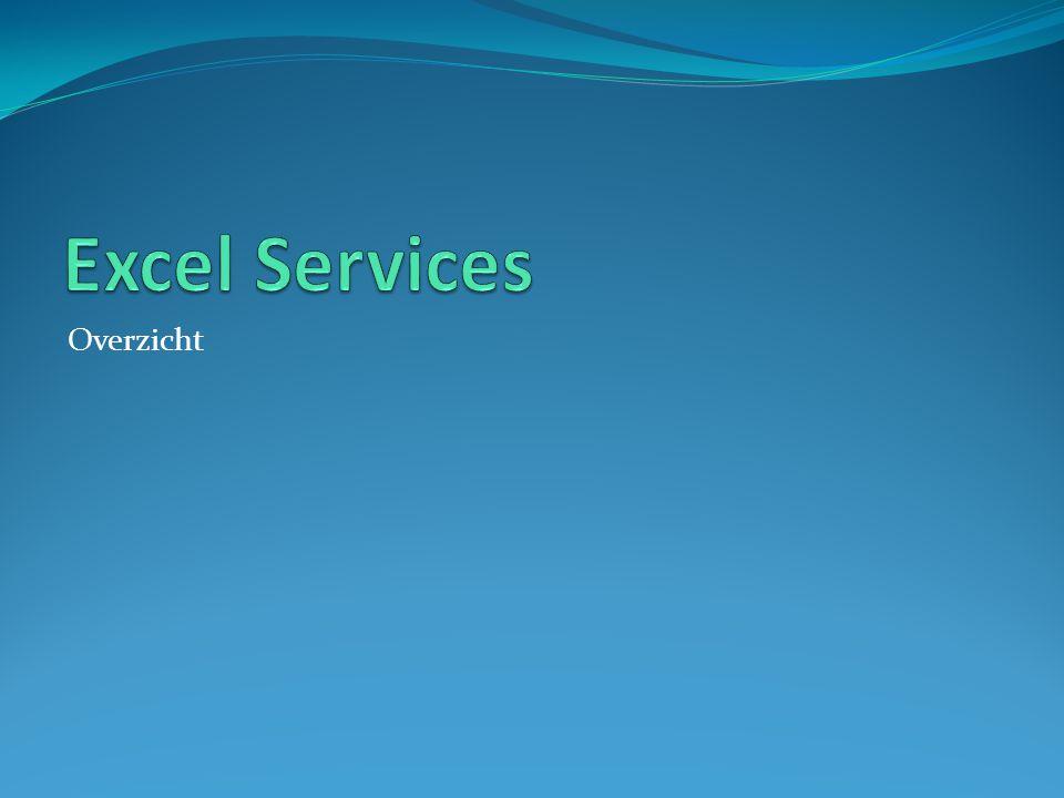 Excel Services Overzicht
