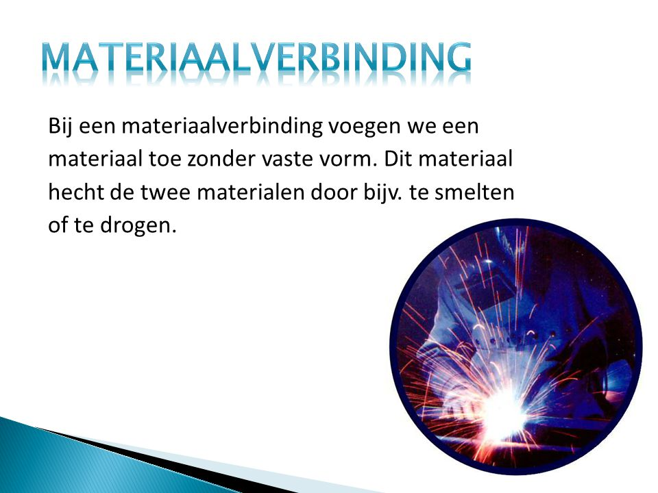 Materiaalverbinding