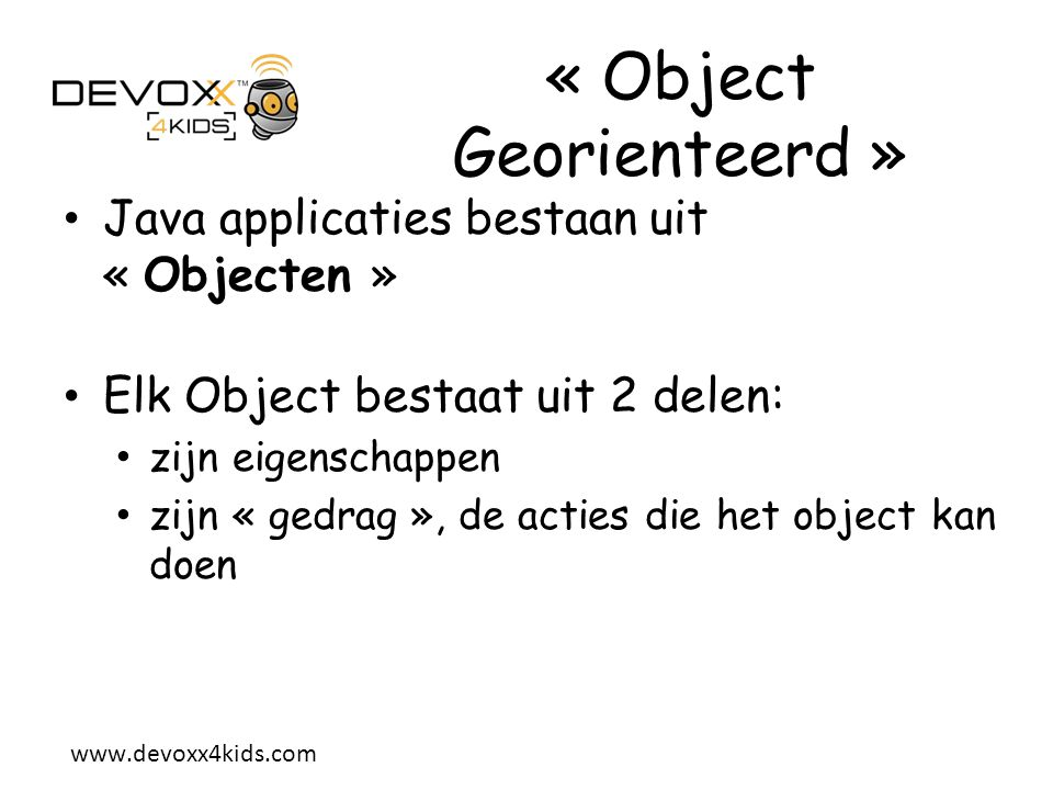 « Object Georienteerd »
