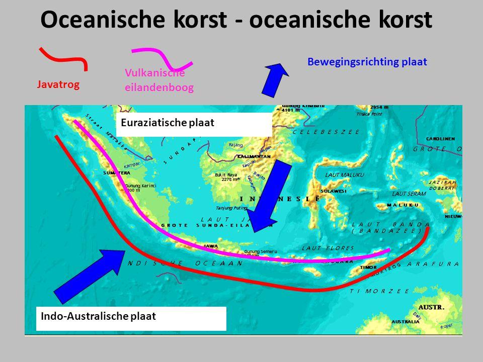 Oceanische korst - oceanische korst