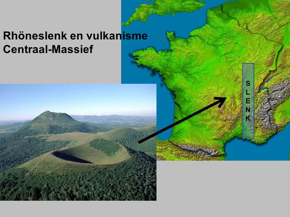 Rhöneslenk en vulkanisme Centraal-Massief