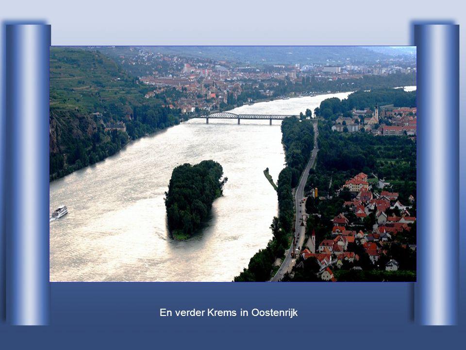 En verder Krems in Oostenrijk