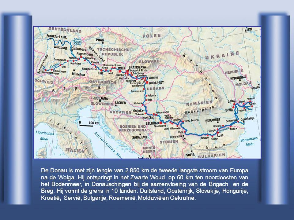 De Donau is met zijn lengte van 2