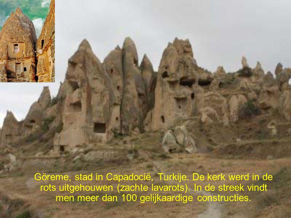 Göreme, stad in Capadocië, Turkije