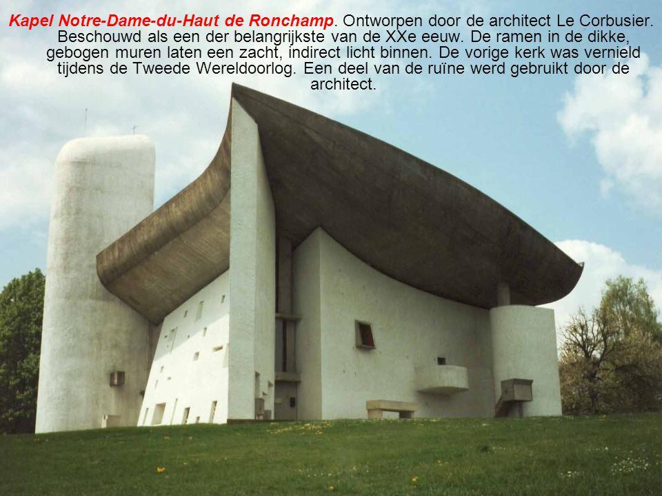Kapel Notre-Dame-du-Haut de Ronchamp