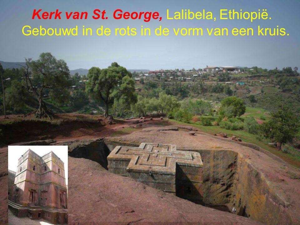 Kerk van St. George, Lalibela, Ethiopië