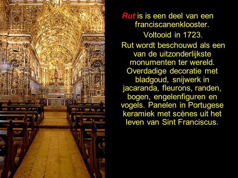 Rut is is een deel van een franciscanenklooster.
