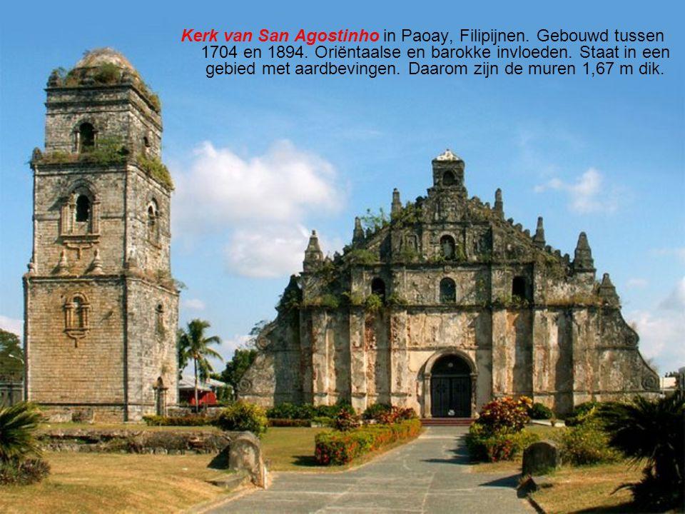 Kerk van San Agostinho in Paoay, Filipijnen