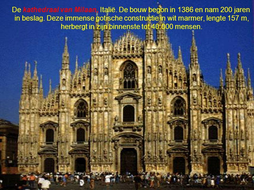 De kathedraal van Milaan, Italië