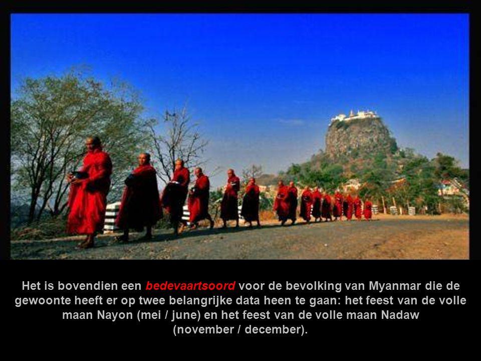 Het is bovendien een bedevaartsoord voor de bevolking van Myanmar die de gewoonte heeft er op twee belangrijke data heen te gaan: het feest van de volle maan Nayon (mei / june) en het feest van de volle maan Nadaw (november / december).